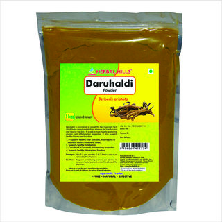 Herbal Hills Daru Haldi Powder - 1 kg Pouch