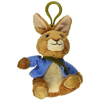 Gund 4048621 Peter Rabbit Backpack Clip Assortment Plush