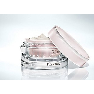 Chronos Anti Aging Cream 30+ SPF 30 For Visible Signs Of Aging, Rejuvenating Face Cream That Really Works - Anti Aging C