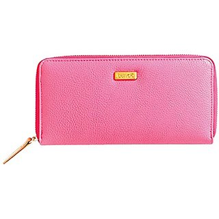 Ban.do Big Spender Wallet, Neon Pink and Rose Gold