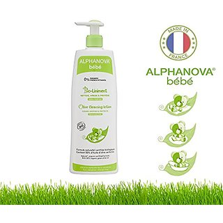 Alphanova Bebe-Organic Olive Cleansing Lotion (500ML)