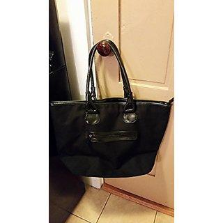 The Body Shop Premium Black Tote Bag