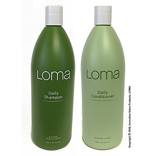Loma Daily Shampoo and Conditioner 33 Ounce/Litter Duo