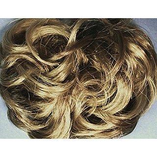 977 Diamond 3-inch Pony Fastener Hair Scrunchie - 24-14 Blonde-Brown