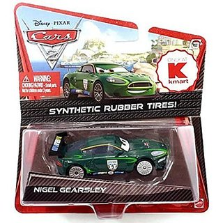 Disney-Pixar Cars 2 Movie, Nigel Gearsley with Synthetic Rubber Tires Exclusive Die-Cast Vehicle