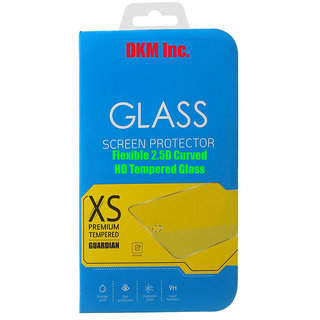 DKM Inc 25D Curved Edge HD 033mm Flexible Tempered Glass for Sony Xperia M4