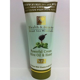 Powerful Cream Olive Oil and Honey 100ml
