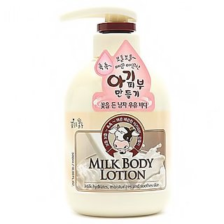 Somang Milk Body Lotion 500ml (Milk Hydrates, Moisturizes and Soothes Skin)