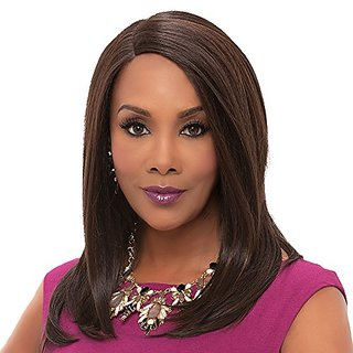 Vivica A. Fox JILL New Futura Fiber, Deep Lace Front Wig in Color FS1B30