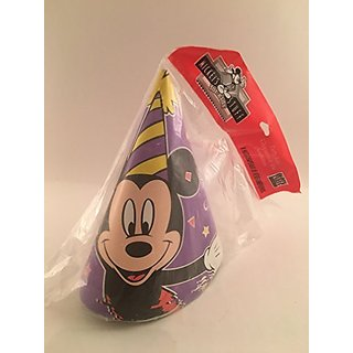 Mickeys Stuff Purple 8ct Party Hats
