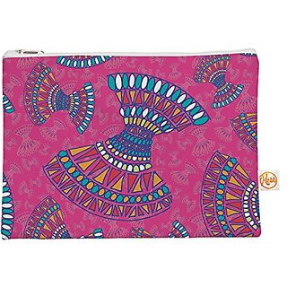 Kess InHouse Everything Bag Flat Pouch by Miranda Mol 8.5 x 6 Inches