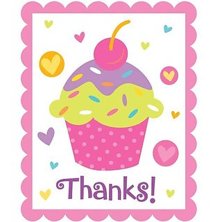 buy cupcake party thank you notes online get 23 off