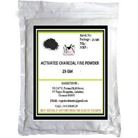 ACTIVATED CHARCOAL FINE POWDER 25g (Face Pack -UNDERARM DARKNESS-ANTIAGING-FAIRNESS-SKIN CARE) (No of units 1)