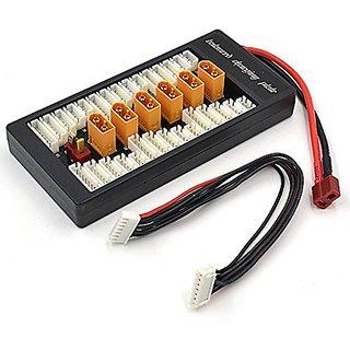 WOOCON XT60 plug Parallel Li-po Balance Charging Adaptor Board 2S to 6S Charge Balance Plate for Imax B6 B6AC V2