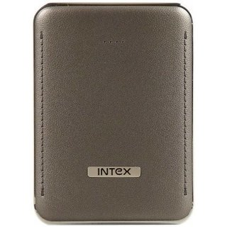 Intex PB-6K 6000 mAh Power Bank - Grey