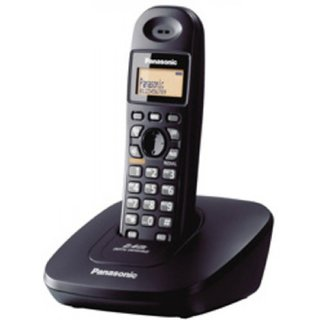 Panasonic KX-TG3611SX Cordless Landline Phone (Black) With BILL  Warranty