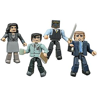 Diamond Select Toys Gotham Minimates Series 1 Box Set Action Figure