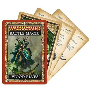 Warhammer Wood Elves Battle Magic Cards
