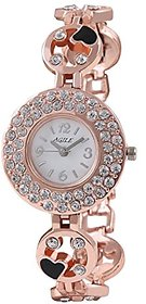 White Dial Analog Watch For Women