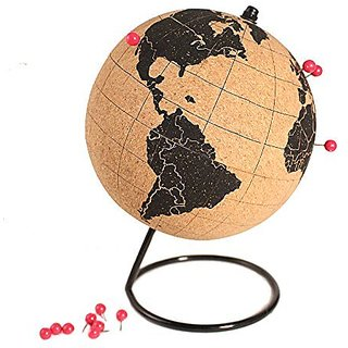 L&C Traveler - Mini Cork Globe