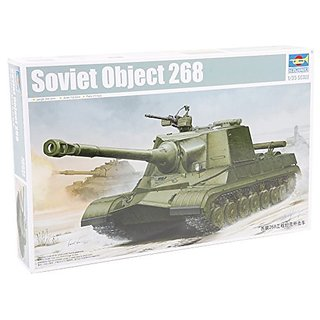 Trumpeter Soviet Object 268 Model Kit