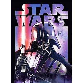 Disney Star Wars Darth Vader Classic Super Soft Plush Oversized Twin Throw Blanket