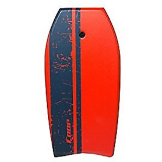 Coop Super Pipe 41 Body Board, Red Stripe
