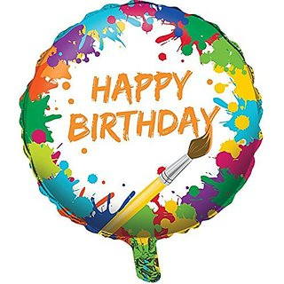 Art Party Supplies - Foil Balloon