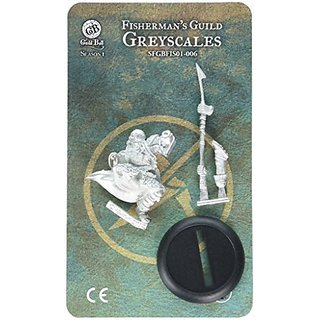 Steamforged Games Guild Ball Fisherman Greyscales Kit