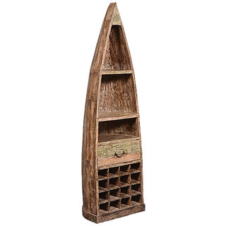 Shop Sting Mrots Indian Reclaimed Wood Bar Cabinet