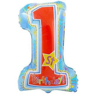 Anagram International One-Derful Birthday Boy Shape Balloon, 28