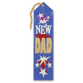 New Dad Ribbon