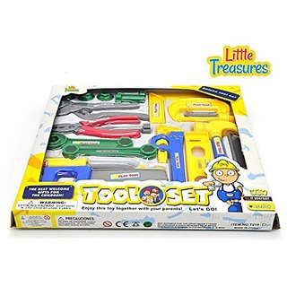 Deluxe tool set from Little Treasures Laugh & Learn kids fixer man tools 22-piece pretend play toy set