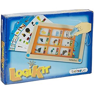 beleduc LogiKit A Math Game with Self-Check Function