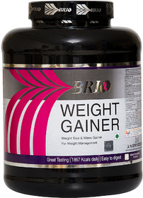 Brio Weight Gainer 3Kg Kesar Pista Badam