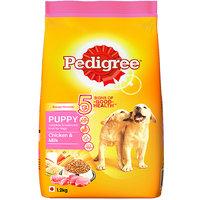 Pedigree (Puppy - Dog Food) Chicken  Milk, 1.2 Kg Pack
