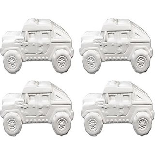 Super Humvee Truck - Set of 4 - Host Your Own Ceramic Painting Party