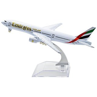 TANG DYNASTY(TM) 1:400 16cm Boeing B777 Emirates Airlines Metal Airplane Model Plane Toy Plane Model