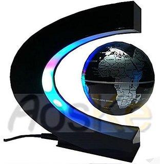 Wingler Christmas Gift Present High Rotation Mirror Luxury Creative Shape Magnetic Suspension Maglev Levitation Globe Te