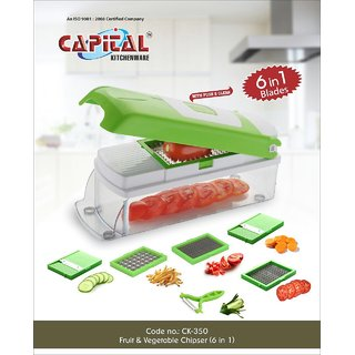 Vegetable chopper/ Vegetable  fruit chipser (6 in 1)