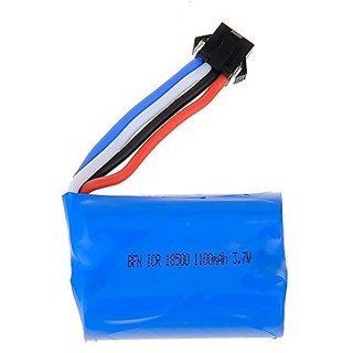 Qsmily Upgraded 3.7V 1100mAh Replacement Lipo Battery for UDI R C UDI001 Venom Speed Boat