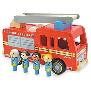 Indigo Jamm IIJ8051 Freddie Fire Engine Playset