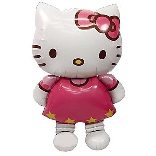 New Large Size Hello Kitty Cat Foil Balloons Cartoon Birthday Decoration Wedding Party Inflatable Air Balloons Classic T