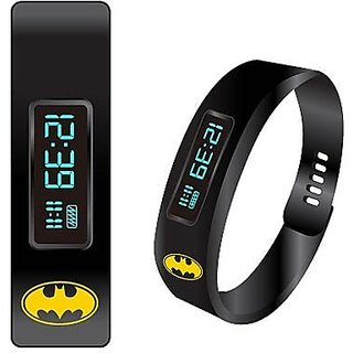 Batman Fitness Tracker LED Watch
