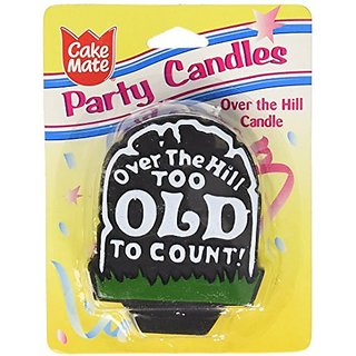 Cake Mate Over The Hill Candle, Units (Pack of 12)