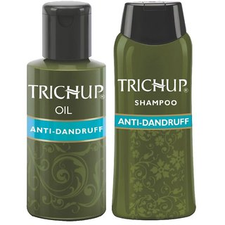 Trichup Anti-Dandruff Kit (Anti-Dandruff Oil (100ml), Anti-Dandruff Shampoo (200ml) (PACK OF 2)