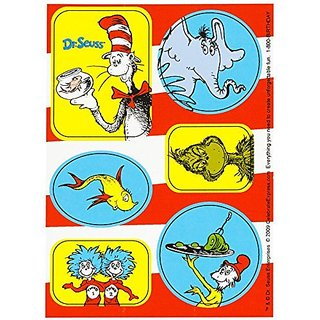 Dr Seuss Party Supplies - Sticker Sheets (16)
