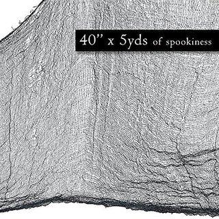 Prextex Spooky Halloween Creepy Cloth Decoration- 5 Yards X 40