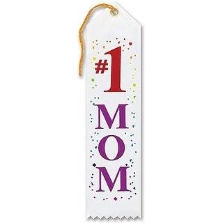 #1 Mom Award Ribbon 2