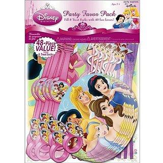 Princess Dreams Party Favor Pack 48pc